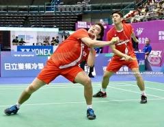 李梓嘉被淘汰,李龙大/金基正晋级丨中国台北1/8决赛