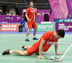李龙大/金基正被淘汰,安洗莹晋级丨中国台北赛1/4决赛
