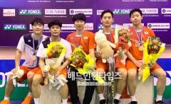 国羽2金2银收官,张艺曼首夺国际比赛冠军丨越南公开赛