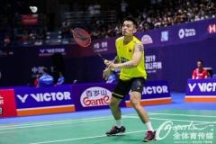 谌龙马琳晋级,林丹安赛龙一轮游丨中国公开赛首日