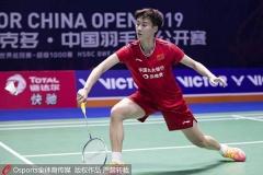 辛德胡出局!陈雨菲谌龙马琳晋级丨中公赛1/8决赛