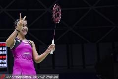 國羽雙塔2-1驚險逆轉,馬琳淘汰何冰嬌丨中公賽1/4決賽