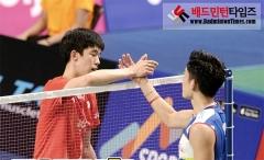 刘成/黄凯祥晋级,国羽男单全军覆没丨韩国赛1/8决赛