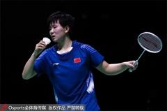 韩国公开赛1/4决赛,何冰娇vs陈雨菲