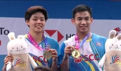 泰国羽协主席:德差波尔/沙西丽成奥运夺牌又一希望