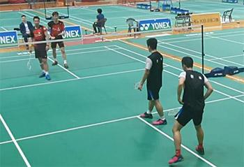 全韩体育大会,看看高成炫申白喆打得如何?