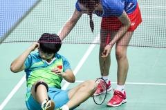 世青赛单项赛第二日,国羽仅一组混双输球