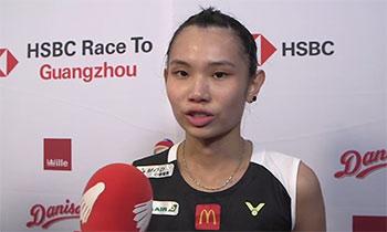 小戴:决赛对奥原很艰难,要跑很多才能得分