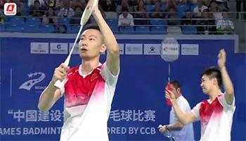 军运会男团小组赛:谭强/张楠2-0维尔勒格/穆切特