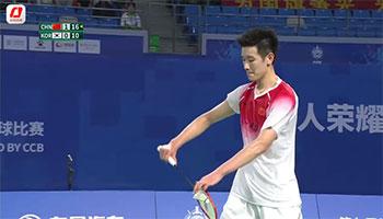 军运会男团小组赛:李诗沣2-0林承基