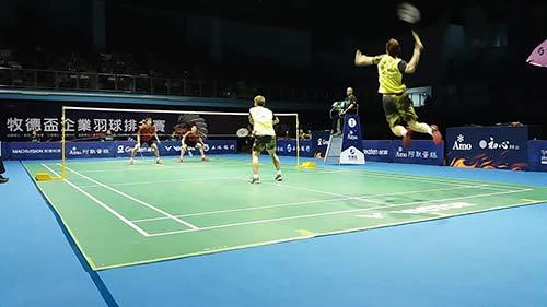 【低视角】这杀球好震撼!李洋/王齐麟vs李哲辉/杨博轩