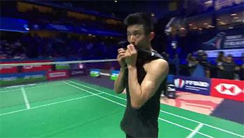 谌龙vs乔纳坦精彩集锦,30岁老将2周夺1冠1亚不容易