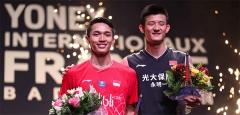 谌龙夺本赛季首冠,安洗莹21-5横扫马琳丨法国公开赛