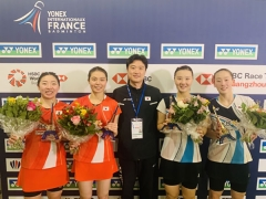 韩国女双强势崛起,国羽对手不再只是日本
