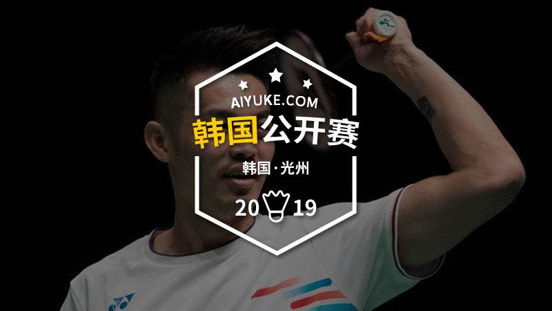 2019年韓國羽毛球大師賽