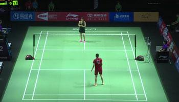 蔡炎炎VS內維爾 2019中國福州羽毛球公開賽 女單1/16決賽視頻