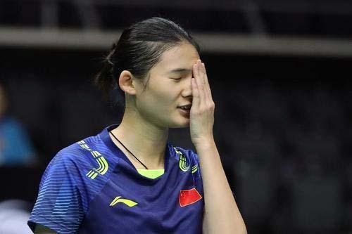 兩局關鍵分均失誤,韓悅香港賽一輪游集錦