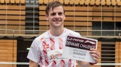 维汀哈斯:丹麦男单实力很强,明年汤杯有机会夺冠