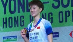 金廷爆冷不敵李卓耀,國羽女單女雙奪冠丨香港公開賽