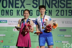 国羽女单女双2金收官,金廷1-2爆冷不敌李卓耀丨香港公开赛