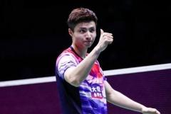 奥运积分排名:石宇奇飙升至28,林丹降至第21位