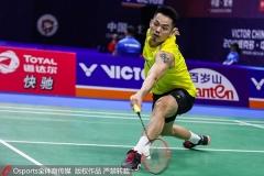 林丹次局轰出10-0逆转取胜,李诗沣一轮游丨韩国大师赛1/16决赛