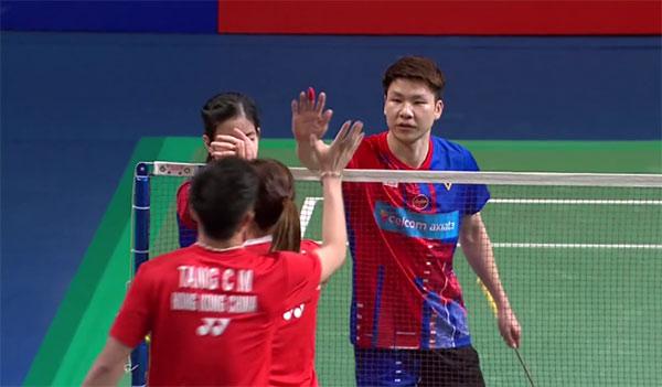 3分钟看完韩国大师赛混双决赛