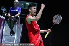 广州总决赛参赛名单出炉,国羽男单仅谌龙获资格