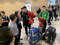 国羽抵达厦门,41天封闭训练备战奥运