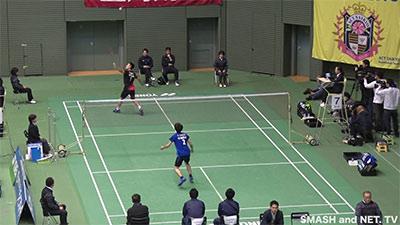 桃田2019日本全国赛首秀集锦,场上玩得很开心!