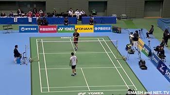 桃田全日本锦标赛第3轮集锦,把对手杀成筛子了!