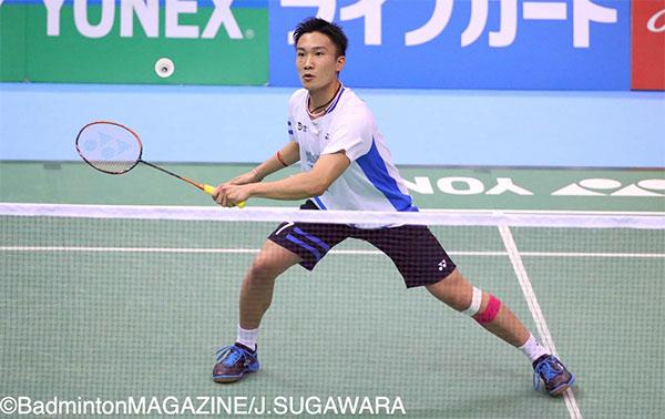 全日本锦标赛半决赛,桃田碾压坂井一将集锦