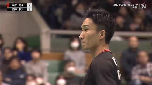 【全场回放】2019全日本决赛,桃田贤斗vs西本拳太