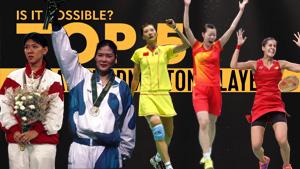 奥运史上TOP5女单,中国就占俩!