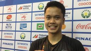 金廷VS西蒂空 2019东南亚运动会 男团半决赛视频