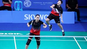 拉温达/普缇塔VS伊斯特拉尼/拉哈尤 2019东南亚运动会 女团决赛视频