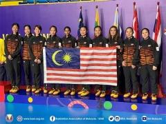 因达农助泰国女团摘金,男团决赛明早进行丨东南亚运动会