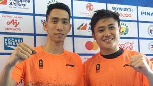 瓦优·纳亚卡/阿德尤索VS张御宇/王耀新 2019东南亚运动会 男团决赛视频