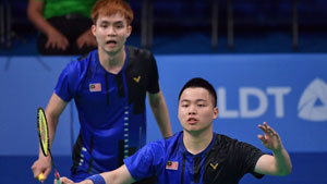 谢定峰/苏伟译VS博丁/玛尼蓬 2019东南亚运动会 男双决赛视频