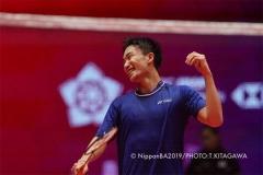 王懿律/黄东萍2-0取胜 夺小组赛开门红丨年终总决赛