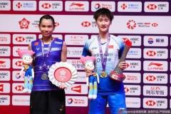 第8冠!陈雨菲下周登顶世界第一