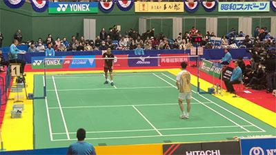 桃田總決賽后回到日本就打聯賽,這表現如何?