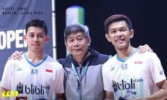 印尼三雙韓國賽摘金后陷入低潮,教練:自信問題