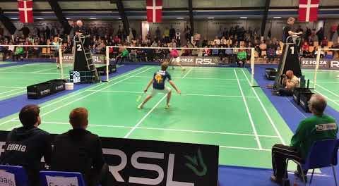 2019全丹麥U15男單決賽集錦,這水平如何?