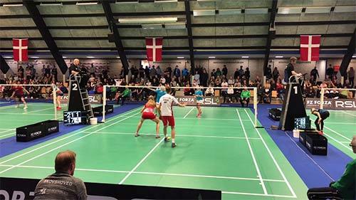 【低视角】2019丹麦U15锦标赛混双决赛