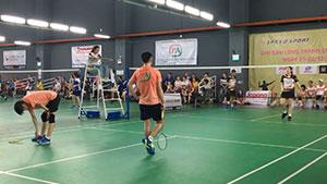 2019年越南羽毛球业余比赛,这水平怎么样