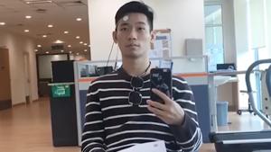 大马大师赛丨陈炳顺面瘫已恢复8成,希望球迷不要担心!