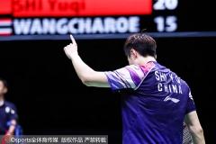 泰国大师赛抽签出炉,石宇奇林丹等春节也不休