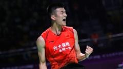 谌龙石宇奇晋级,国羽男双仅剩独苗双塔丨大马1/8决赛