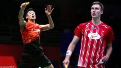 諶龍迎戰安賽龍丨馬來西亞大師賽1/4決賽